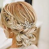Olbye Wedding Hair Comb Crystal Bridal Hair