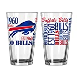 Buffalo Bills Official NFL 16 fl. oz. Spirit Pint Glass …