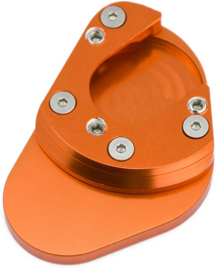 H2racing Motorrad Seitenständer Unterstützung Fuß Verbreiterung Ständer Pad Für K T M 125 Duke 200 Duke 2012 2015 390 Duke Auto