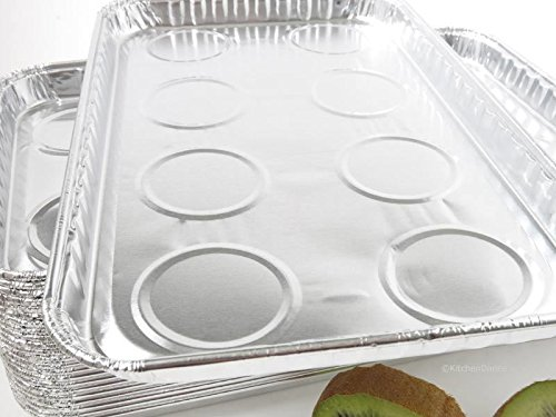 Durable Packaging Aluminum Foil Toaster Oven Tray - #3300 (250)