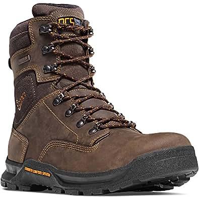 Amazon Com Danner Crafter 8 Quot Brown Work Boots Oil Amp Slip