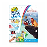 Crayola Mess-Free Color Wonder Pages & Mini Markers, Lion King, Mess Free Colouring, Washable, No Mess, for Girls and Boys, Gift for Boys and Girls, Kids, Ages 3, 4, 5,6 and Up, Holiday Gifting, , Stocking , Arts and Crafts,  Gifting