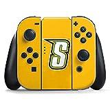 Siena College Nintendo Switch Joy Con Controller Skin - Siena College Yellow | Schools & Skinit Skin