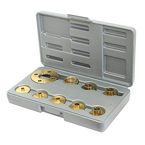 - Amana Tool BTG-100 Brass Template Guide Set, 10-Piece