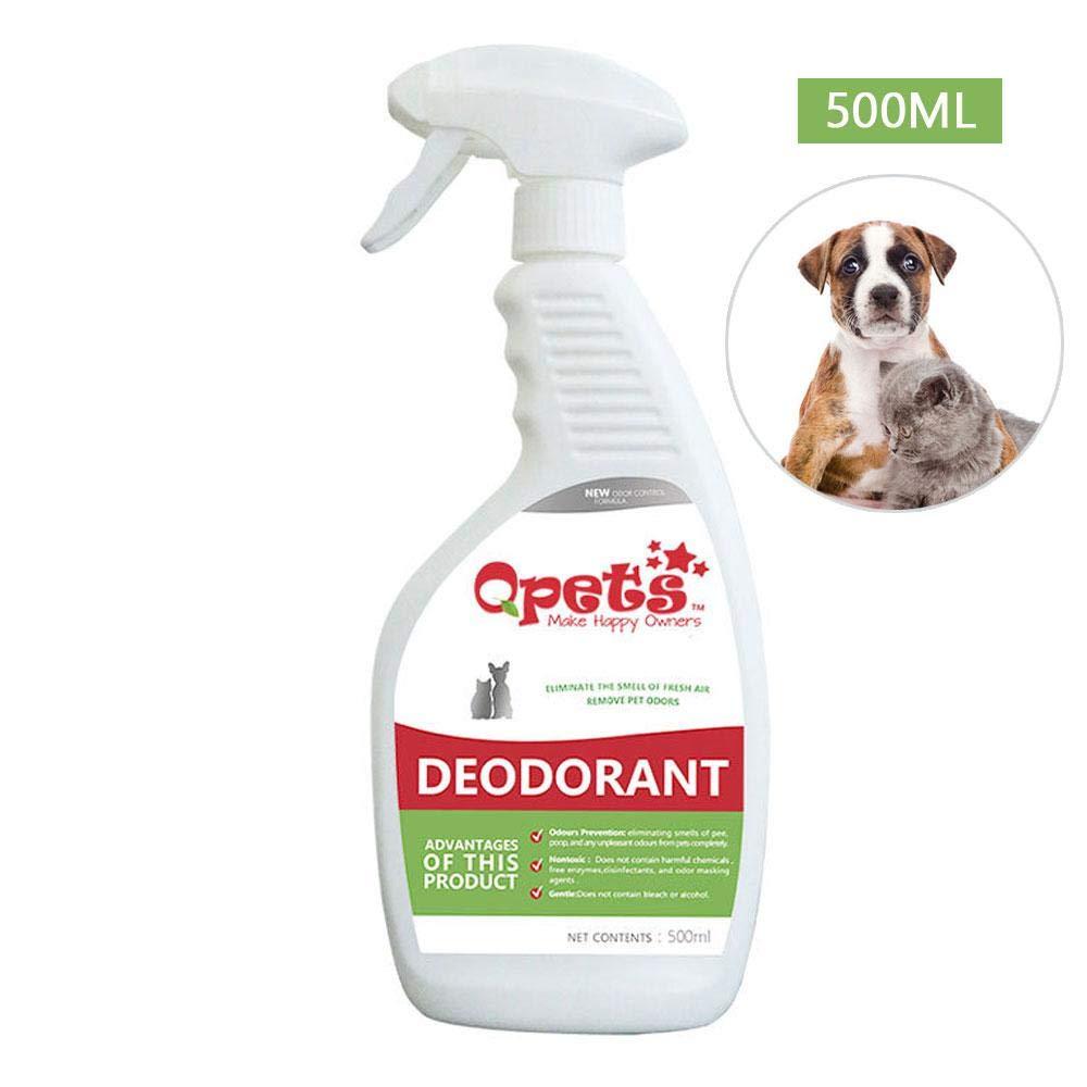 Auoker - Eliminador de olores para Mascotas, eliminador de olores de Manchas de Mascotas, Limpiador enzimático para Perros y Gatos, Aceite, Limpiador de ...