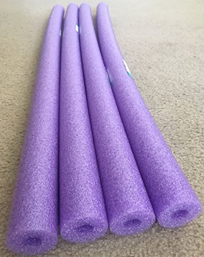 Lot 4x Purple Noodle Swimming Pool Noodle therapy water floating foam (Pool Noodle Ideas)