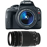 Canon EOS Rebel T6i DSLR SLR Camera with EF-S 18-55mm f/3.5-5.6 IS STM Lens Bundle