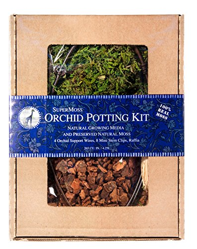 Super Moss 90510 Orchid Potting Kit, 200 CU IN