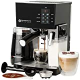 10 Pc All-In-One Barista Bundle Espresso Machine & Cappuccino Maker,...