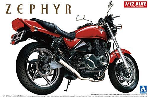 AOSHIMA 1/12 Motorcycle | Model Building Kits | No.10 Kawasaki ZEPHYR Type IV [ Japanese Import ]