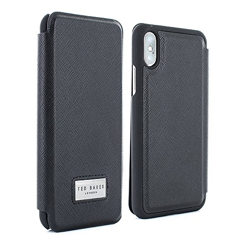6e91b2b2f27e Ted Baker Official COATSIE Highly Protective Folio Case for iPhone X XS -  Black
