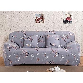 Amazon.com: Funda de sofá MIFXIN para 3 cojines, de piel, 1 ...