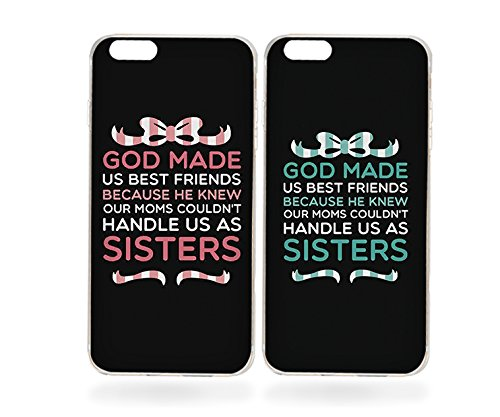 amazon com cute bff phone cases god made us best friends phoneimage unavailable image not available for color cute bff phone cases god made us best friends phone covers for iphone 6s,