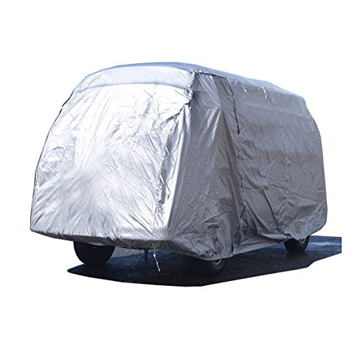 Custom-fit Outdoor Car Cover for VW Bus Camper Van Type 2 HIGH ROOF - T1 T2 T3 T25-1950 to 1992 - Zippered Door Access, Waterproof & ()