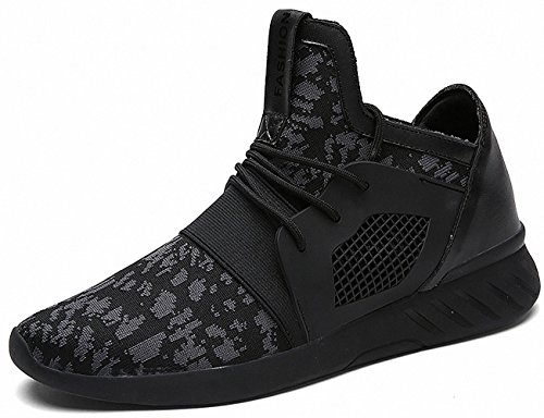Ben Sports zapatillas de deporte trail Running de hombre pare mujor D-2 Negro