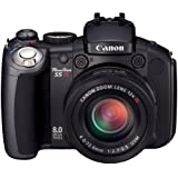 Canon PowerShot Pro Series S5 IS 8.0MP Digital Camera with 12x Optical Image Stabilized Zoom (OLD MODEL)