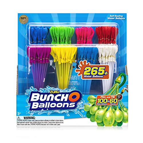 WATER BALLOONS - BUNCH OF BALLOONS RAPID REFILL 8 PACK (Balloons Biodegradable Water)