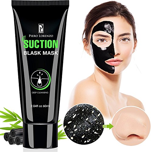 (Piero Lorenzo Blackhead Remover Mask, Blackhead Peel Off Mask, Face Mask, Blackhead Mask, Black Mask Deep Cleaning Facial Mask for Face Nose 60g BM)