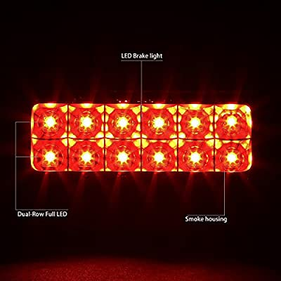 DNA MOTORING 3BL-GMCSON-LED-BK-SM Third Brake Light: Automotive