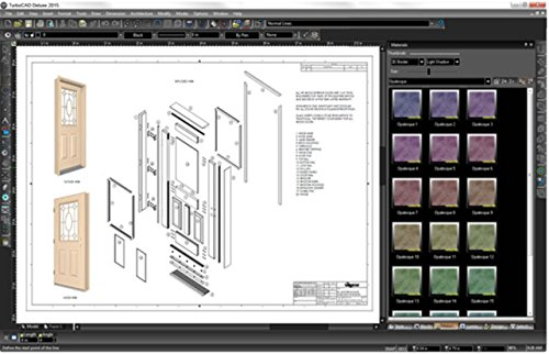 turbocad deluxe 2015 affordable 2d drafting amp 3d