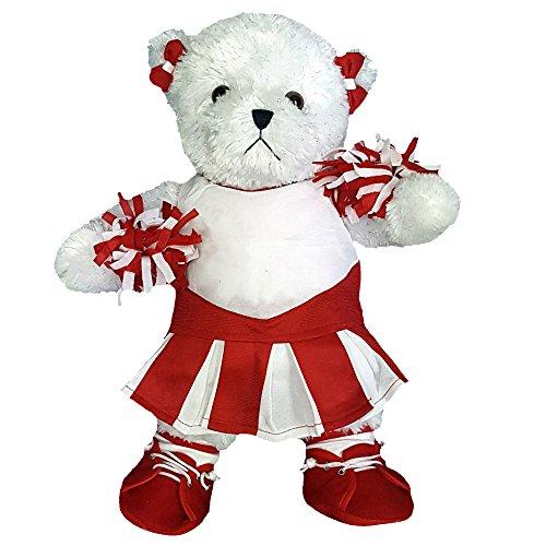 Cheerleading Red Dance Recital Teddy Bear -