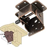Platte River 115637, 4-pack, Hardware, Table, Folding Table Hardware, Heavy Duty Folding Wooden Leg Fitting