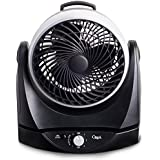 Ozeri Brezza II Dual Oscillating 10 High Velocity Desk Fan