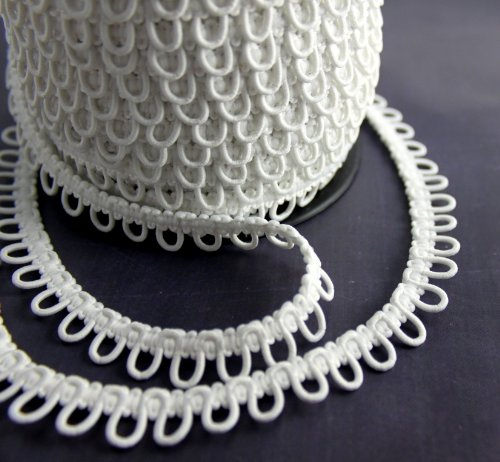 Nakpunar White Elastic Button Loops product image