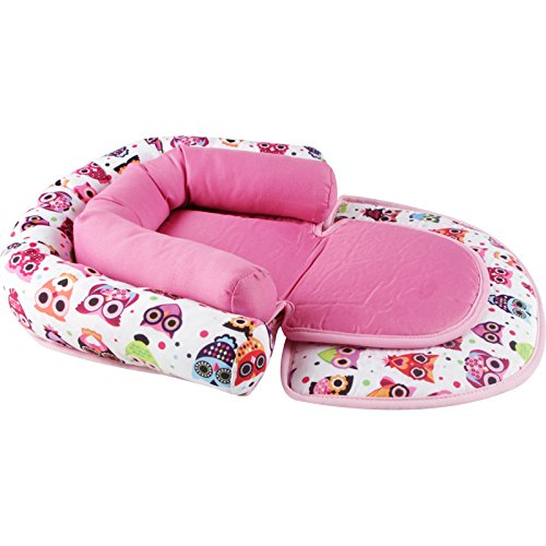 Infant Head Support for Car Seat, KAKIBLIN Baby Soft Neck Support Pillow, Pink by KAKIBLIN (Image #6)