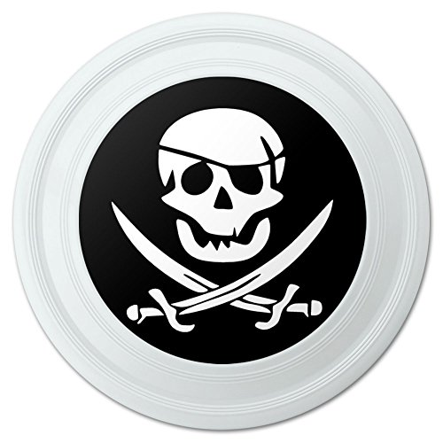 Pirate Skull Crossed Swords Jolly Roger Novelty 9