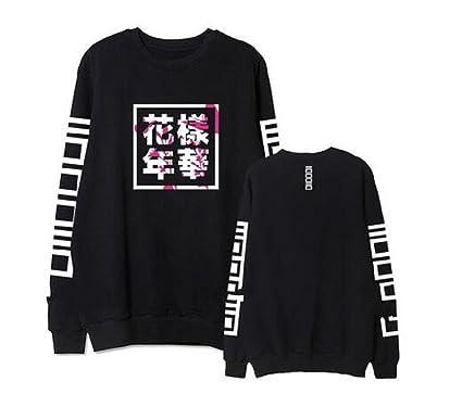 4013dfbd44e6 mainlead Unisex Kpop BTS Bangtan Boys Hoodie Sweatshirt Athleisure (in Bloom