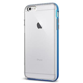 fb6e680c4d4 Spigen SGP11670 - Funda para iPhone 6 Plus / 6S Plus, Claro/Azul:  Amazon.es: Electrónica