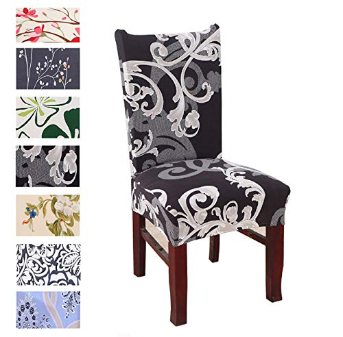 Argstar 4 Pack Chair Slipcovers for Dining Room Spendex Covers, X_04