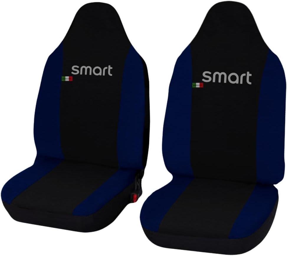 Lupex Shop smart.013/_B.bs Fundas para Asientos de Coche Azul Oscuro