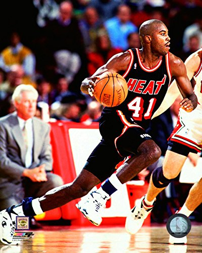 online store b7efb fc1d5 Amazon.com: Glen Rice Miami Heat NBA Action Photo (Size: 8 ...