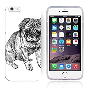 """Animal Art Illustration Pattern HD Durable Hard Plastic Case Cover for iphone 6 6s(4.7"""")"""