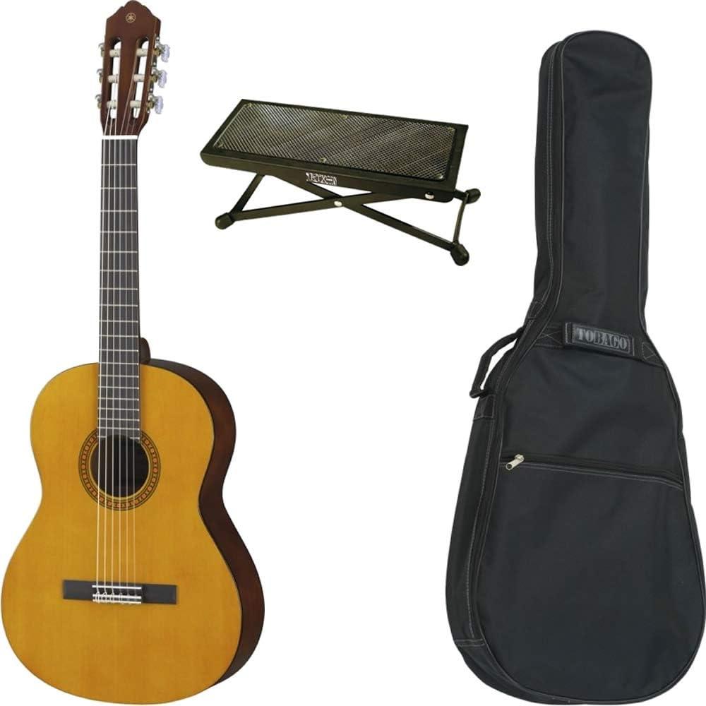 Juego de guitarra clásica Yamaha CS40 3/4 + funda + reposapiés ...