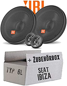 Lautsprecher Boxen Jbl 16cm System Auto Einbausatz Einbauset Für Seat Ibiza 6l Front Heck Just Sound Best Choice For Caraudio Navigation
