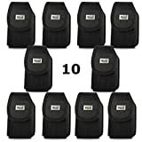 Contractor Pack of 10 Rugged Heavy Duty Cases with Metal Clip and Belt Loop for Kyocera DuraForce Pro