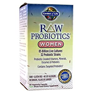 Garden Of Life Raw Probiotics Women 90 Capsules By Garden Of Life Health