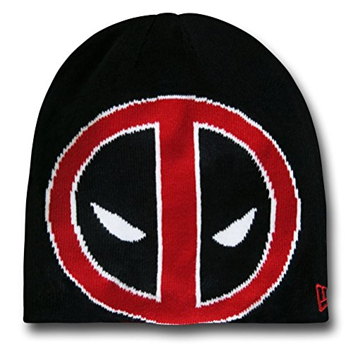 (Marvel  Deadpool Symbol Reversible Beanie Red)