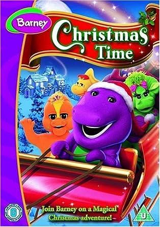 Barney - Barney's Christmas Time [2008] [DVD]: Amazon.co.uk ...