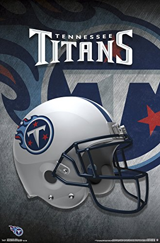(Trends International Tennessee Titans-Helmet Premium Wall Poster, 22.375