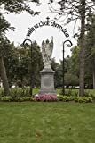 24 x 36 Giclee Print of Statue of St. Michael The Archangel at Saint Mary's College a Four-Year Catholic Women's Liberal-Arts College in Notre Dame Indiana r21 42645 by Highsmith, Carol M.