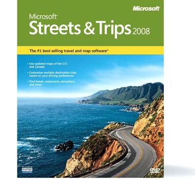 Microsoft Streets & Trips 2008 - Complete Package ()