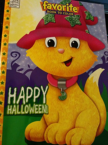 Happy Halloween Favorite Book to Color with Tear & Share (Happy Halloween Coloring Pages)
