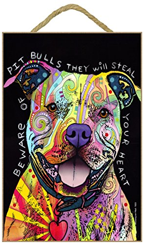 (SJT ENTERPRISES, INC. Pitbull - Beware of Pitbulls They Will Steal Your Heart 7