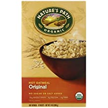 Nature's Path Organic Instant Hot Oatmeal Pouch Original, 14-Ounce Box (Pack of 6) by Nature's Path