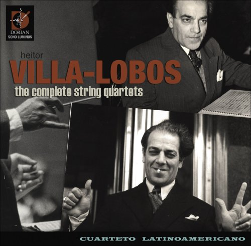 Villa-Lobos: Complete String Quartets [Box Set]