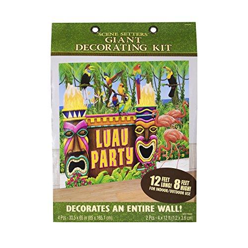 Luau Party Decorating Kit (Luau Decorations Party City)
